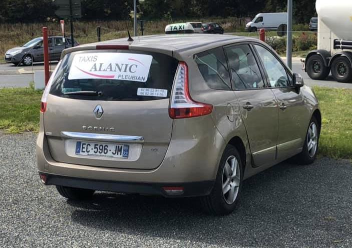 Stickers pour taxis Alanic à Pleubian
