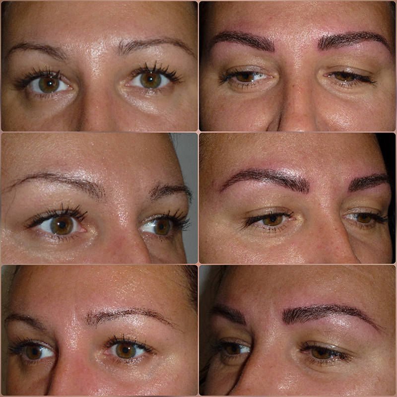 Photo Microblading l'institut de beauté de Saint-Malo