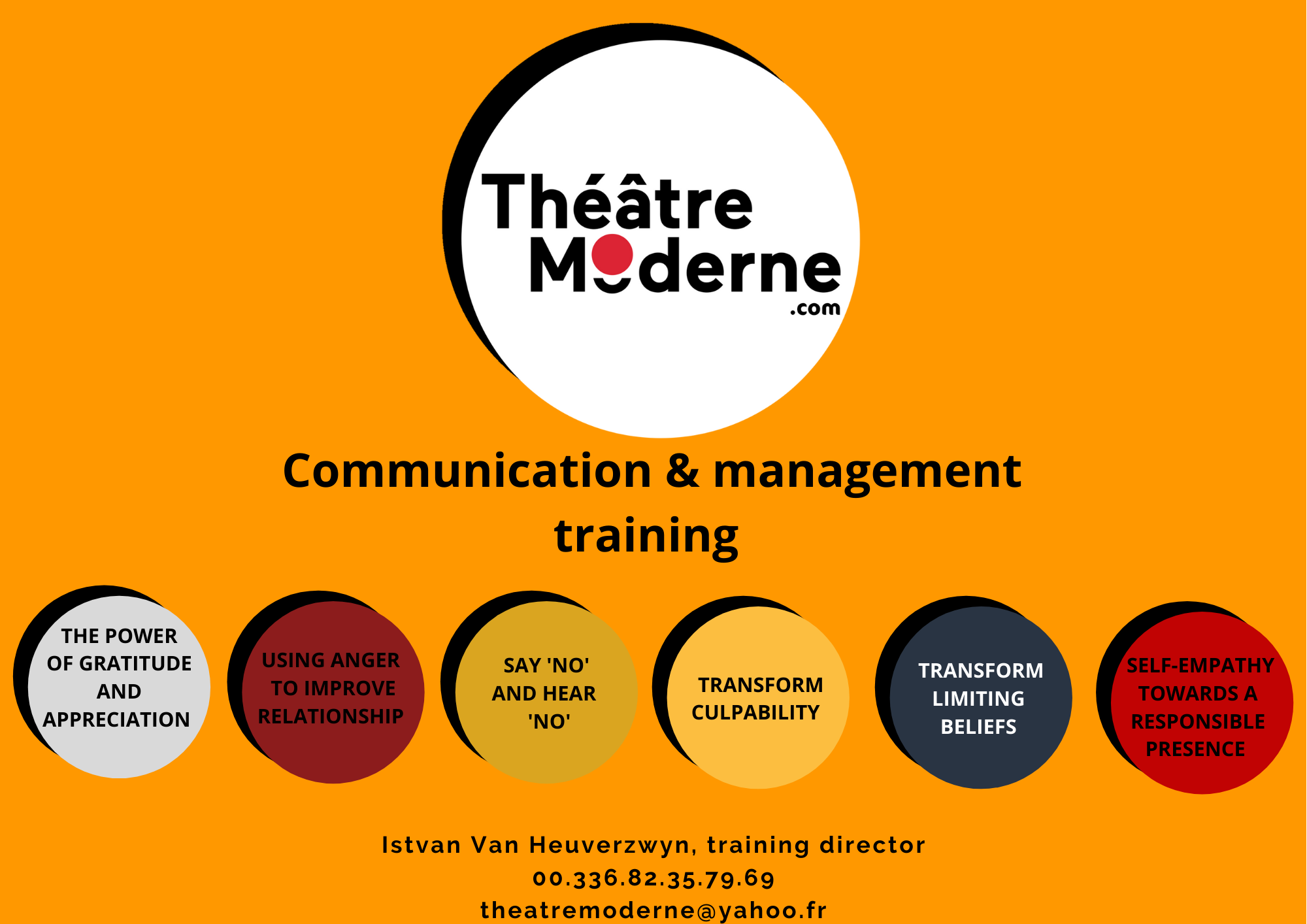 7 - Registration, quote, communication and management training