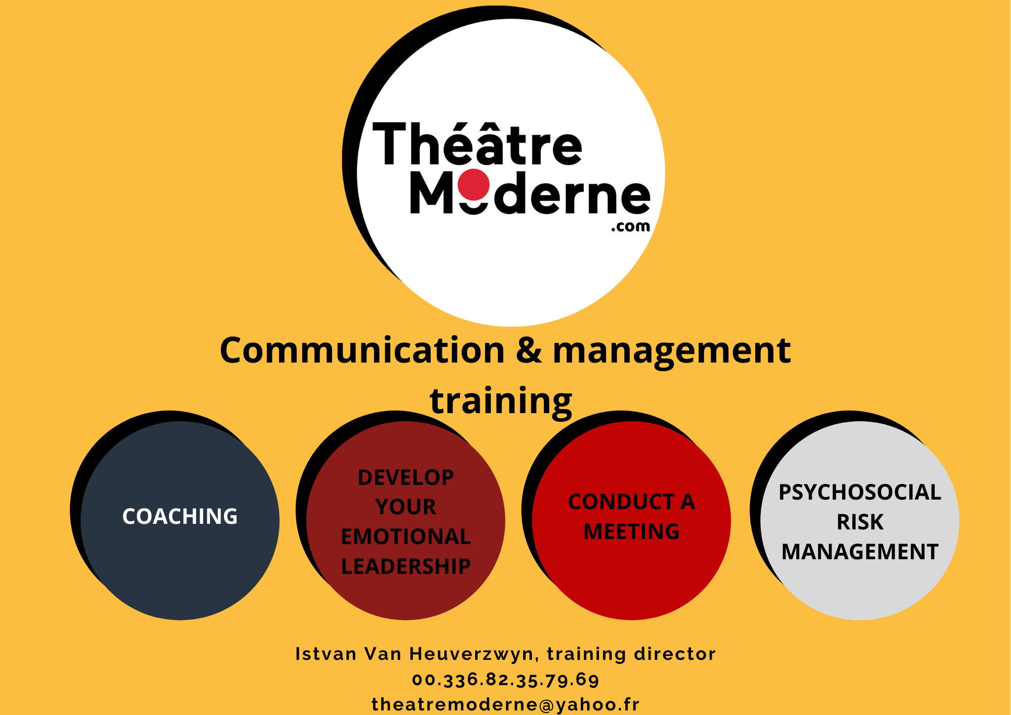 3 - Registration, quote, communication and management training